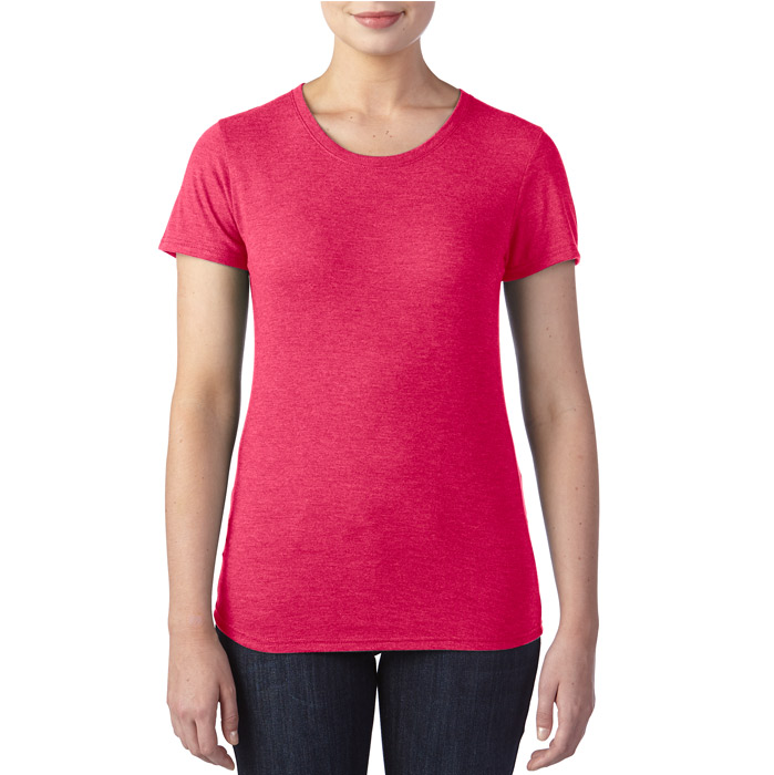6750L_Heather-Red_Front